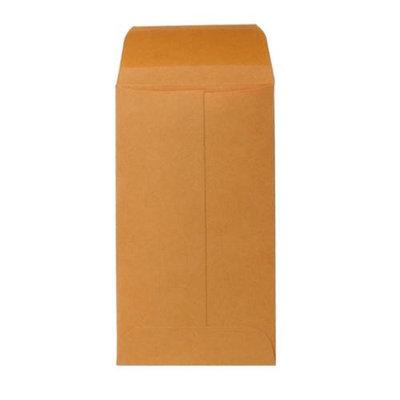 Sparco Products Coin Envelopes, Gummed Flap, Kraft