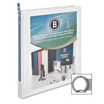 Business Source Standard View Binder, 1/2
