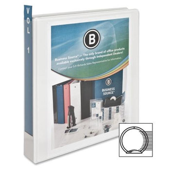 Business Source Standard View Binder, 1-1/2