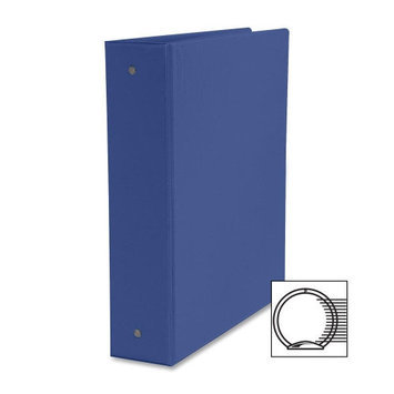 Business Source Round Ring Binder, w/ Pockets, 2