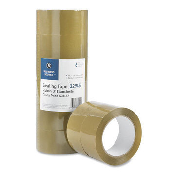 Business Source Box Sealing Tape Packing Tape, 3.54mil, 3