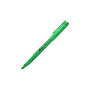 Integra Pen Style Highlighter, Chisel Point, Dozen