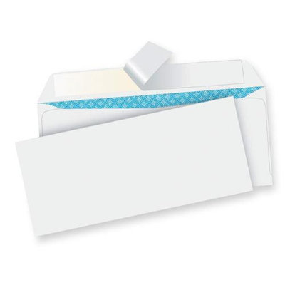 Sparco Business Envelopes Number 10 White Peel-To-Seal Regular
