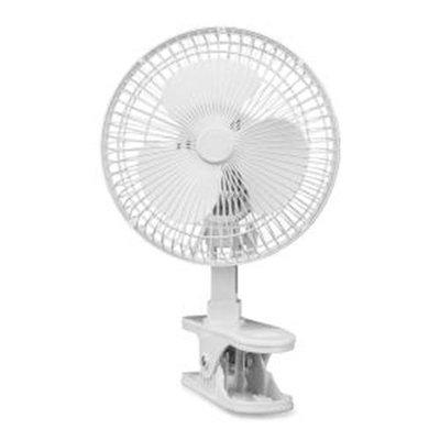 Lorell LLR44552 6-Inch Personal Clip-On Fan