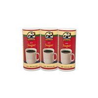 Genuine Joe GJO56100 Pure Cane Sugar Canister Pack of 3