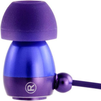 Allsop Tech V23624 Gaiam Aluminum Headphones with Microphone Color: Purple
