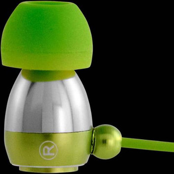 Allsop Tech V23624 Gaiam Aluminum Headphones with Microphone Color: Green