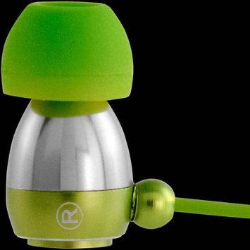 Allsop Tech V23624 Gaiam Aluminum Headphones with Microphone Color: Green