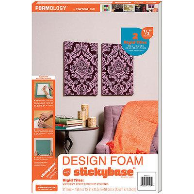 Fairfield Design Foam Rigid 12inX18in 1/2in 2/Pkg-White