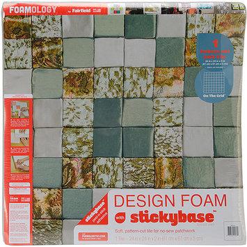 Fairfield Design Foam On The Grid 24inX24inX2in 1/Pkg-White
