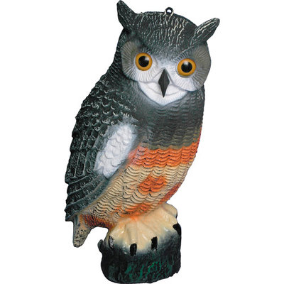 Bond Manufacturing Company Owl Decoy, 6pc