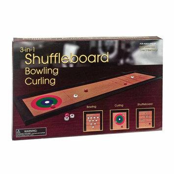 WESTMINSTER INC. 3-in-1: Shuffleboard, Bowling, Curling