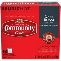 Community Coffee for Keurig(R) K-Cup(R) Brewers - Dark Roast - 18ct Box