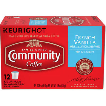 Community Coffee for Keurig(R) K-Cup(R) Brewers - French Vanilla - 12ct Box
