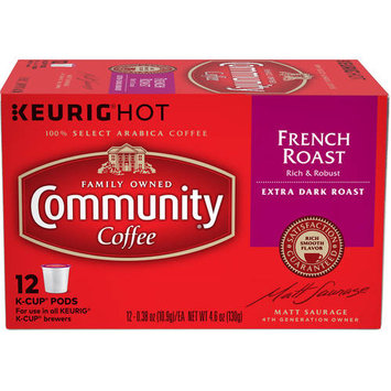 Community Coffee for Keurig(R) K-Cup(R) Brewers - French Roast - 12ct Box