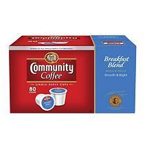 Community Coffee Breakfast Blend Single Serve - 80 ct.