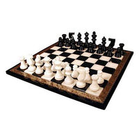 WorldWise Imports NS155BK Black and White Alabaster Wood Frame Set by Scali