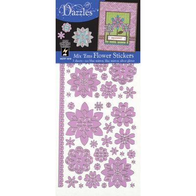 Dazzles Flower Stickers