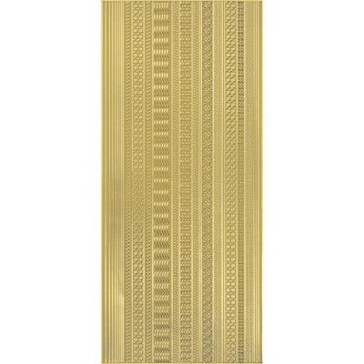Hot Off The Press Dazzles Stickers -63 Thin Lines Gold