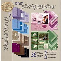 Alvin & Company Alvin HOTP4114 Sarapaper Jewel Combo Ppr Pack