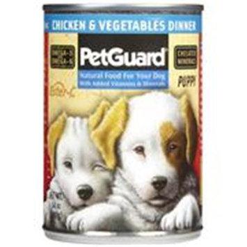 PetGuard Dinner - Chicken & Vegetables - Puppy - 12 x 14 oz