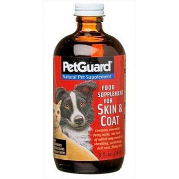 Pet Guard Skin And Coat Supplement 8 Oz