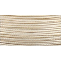 Beadalon 49 Strand Wire .018' Silver Plate 10ft (3m)