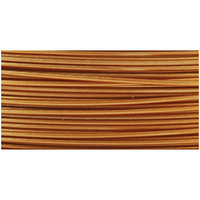Beadalon Stringing Wire, Satin Gold