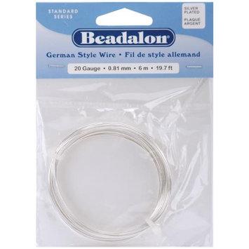 Beadalon 180B020 German Style Round Wire 20 Gauge 19.7 Feet/Pkg