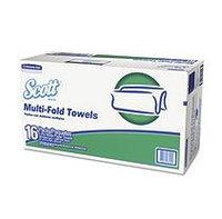 Scott Multifold Paper Towels Folded Paper Towels, Multifold, 9 2/5 x