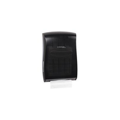 Kimberly-Clark Professional Paper Towel Dispensers Translucent Smoke Universal Folded Paper Towel Dispenser Black 09905
