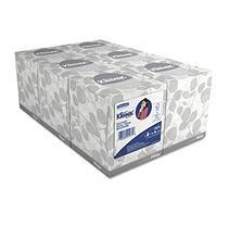 Kimberly-Clark Professional Kleenex Two-Ply White Facial Tissue, 6 ct