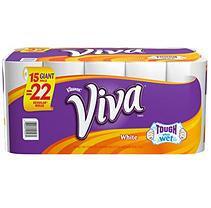 Viva Paper Towels, 15 ROLLS (66 Sheets)