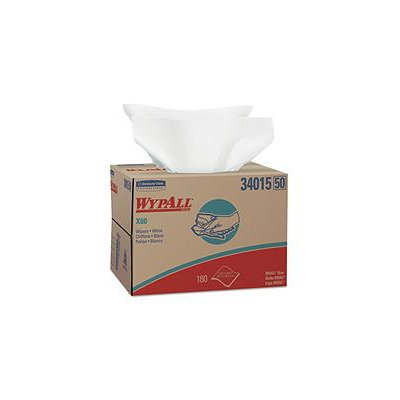 Kimberly-Clark WYPALL X60 Teri Disposable Wipes, 12-1/2x16-7/8