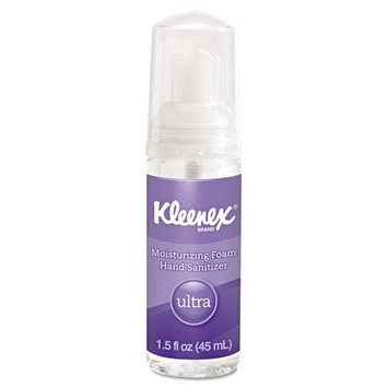 Business Source KCC34604EA - Kleenex Travel Size Ultra Moisturizing Foam Hand Sanitizer