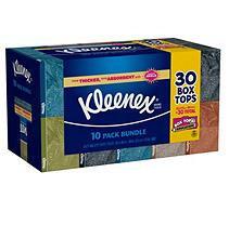 Kleenex Facial Tissue - 10 boxes - 160 ct. each