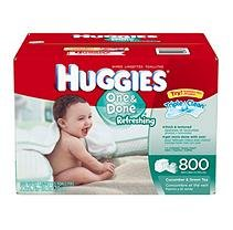 Huggies One & Done Baby Wipes - 800 ct.