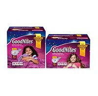 GoodNites Underwear for Girls, Size 8-14 (60-125 lbs.), 44 ct.