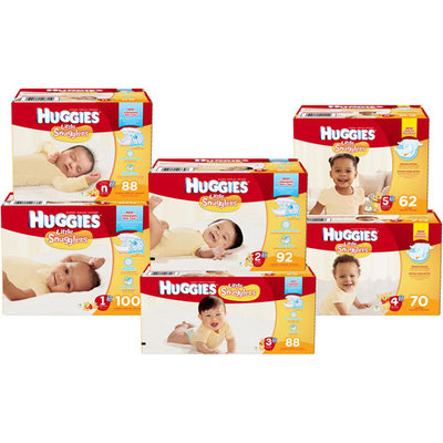 Kimberly Clark Corp Huggies Little Snugglers - 88 Count - Newborn