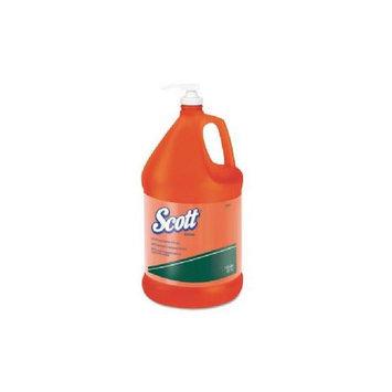 KCC41859CT - KIMBERLY-CLARK PROFESSIONAL* SCOTT NTO Hand Cleaner with Grit; Orange; 1 gal Bottle; 4/Carton