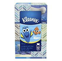 Kleenex Everyday Facial Tissues, 2-Ply, Dory Style (80 sheets per pack; 12 pk.)