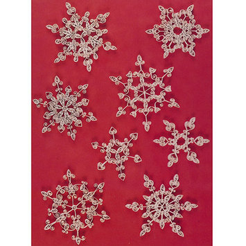 Lake City Craft Q230 Quilling Kit-Snowflakes 3-8 in. Paper