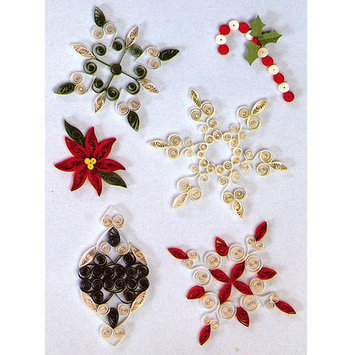 Lake City Craft Q284 Quilling Kit Holiday