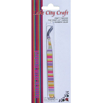 Lake City Craft NOTM089136 - Curved Fine Point Tweezers