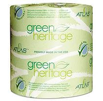 Atlas Paper Mills Green Heritage Bathroom Tissue, 1-Ply, 1000 Sheets/Roll, 96 Rolls/Carton