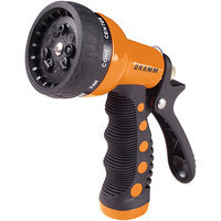 Dramm Corporation Orange Revolver Nine Pattern Spray Gun