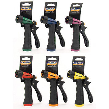 DRAMM Touch 'N Flow Pistol Nozzle, Assorted Colors