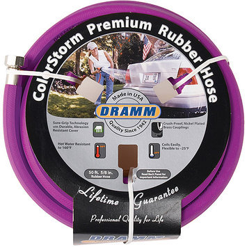 DRAMM 5/8 X 50' Yellow ColorStorm Premium Rubber Hose