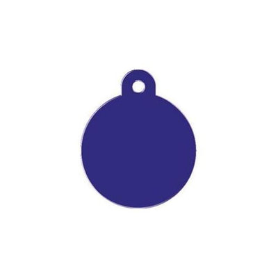 Large Purple Circle Pet Tag TAGCIRCLE5L by Kaba Ilco