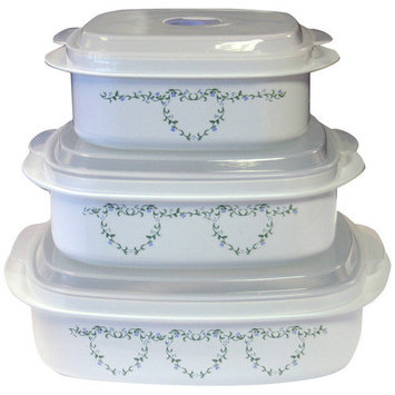 Reston Lloyd 20211 Country Cottage - Microwave Cookware Set